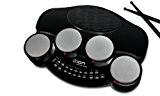 ION Audio Discover Drums | Kit de Batterie électronique 4 pads avec Mode d'Apprentissage + Logiciel PC et MAC