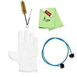 Kit de nettoyage - Kit de nettoyage LADE Brasswind Trompette Trombone Tuba Corne Kit d'outils avec le chiffon de nettoyage ...
