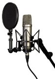 "Kit RODE NT1-A Complete Vocal Recording - 1"" Cardioid Condenser Microphone + SM6 Shock Mount with Detachable Pop Filter"