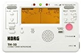 Korg TM50-PW Accordeur/Métronome Blanc