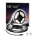 LE Bande Lumineuse LED Flexible 5m 300 unités 3528 SMD, 12V Lumière Blanc du jour 6000K, Décoration Intérieure, Eclairage Design ...