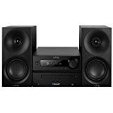 LTC CDM100-BL Mini Chaîne Hi-Fi stéréo 2 x 20 W Noir/Blanc