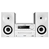 LTC CDM100-WH Mini Chaîne Hi-Fi stéréo 2 x 20 W Noir/Blanc