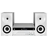 LTC CDM101-WH Mini Chaîne Hi-Fi stéréo 2 x 20 W Noir/Blanc