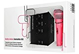 Lucky Voice Party Box Karaoke Machine - Pink Mic
