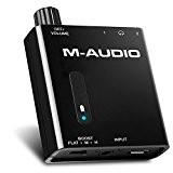 M-Audio Bass Traveler | Amplificateur Portable avec Double Sortie Casques d'Écoute - Batterie Recheargeable