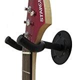 Malayas® 4Pcs Support Mural Guitare Porte-Guitares Muraux Réglbale avec Crochet Présentoire Stand pour guitare Electrique/ Acoustique/ Basse/ Banjo Wall Hanger ...