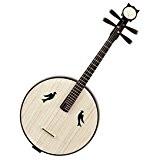 Mandoline da Ruan (Instrument Chinois Ruan de haute qualité avec acceesories