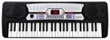 McGrey BK-5410 Clavier 54 touches 100 sonorités 100 rythmes Fonction apprentissage Microphone Pupitre Bloc d'alimentation inclus