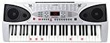 McGrey LK-5430 Clavier à touches lumineuses 54 touches dont 32 éclairées par des LED 100 sonorités 100 rythmes Fonction apprentissage ...