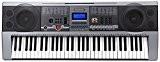 McGrey PK-6110USB Clavier avec 61 touches, 100 tonalités, 100 rythmes, lecteur USB-MP3, fonction apprentissage, bloc d'alimentation et pupitre