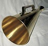 Mégaphone de large en laiton 34 cm