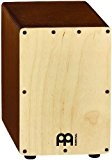 Meinl Percussion SCAJ1LB-NT Mini-cajon en bouleau avec caisse claire Naturel/marron clair