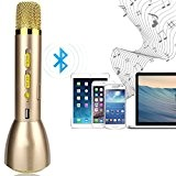Micro karaoké Microphone à Condensateur, YFeel K088 Haut-Parleur Studio Kit de Système de Microphone à Distance pour KTV Enseignement Spectacle ...