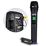 Microphone à main UHF sans fil via port USB avec écran digital WM-USB
