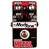 MODTONE MTEM EXTREME METAL Distortion-Pédale de distorsion sur l'effet overdrive-fuzz...