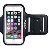 """Mpow Brassard iPhone 6/ 6s 4,7"""" Sport Sweatproof Anti-Sueur Etui Armband Noir Unisexe avec Etui de Portefeuille et Porte-Clé pour ..."""