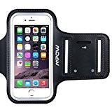 """Mpow Brassard iPhone SE, iPhone 5 5c 5s 4"""" Sport Sweatproof Anti-Sueur Etui Armband Noir Unisexe avec Etui de Portefeuille ..."""