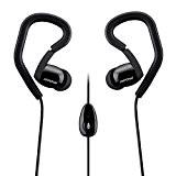 Mpow Sport Fit Écouteurs Intra-auriculaires Basse Hifi Stéréo avec Micro et les tours d'oreille ergonomique pour iPhone, Android Smartphones, Tablettes ...