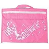 Musicwear: Sacoche De Musique Portée Onduleuse (Rose) Accessoire