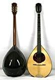 Musikalia Bouzouki grec GAUCHER (avec étui rigide en ABS profilée), en palissandre, table d'harmonie purflée et marquetée, modèle par concert, ...