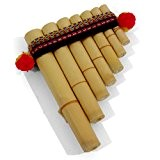 Mystery Mountain Antara Mini flûte de pan péruvienne Facile à utiliser Issue du commerce équitable