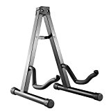 Neewer® Support Stand Fixation Pied Guitare Electrique A-Frame Réglable Portable Universel Noir