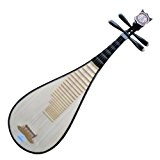Neuf Taille Voyage Pipa Instrument Chinois Luth Guitare W/Accessoires
