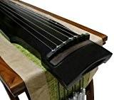 Niveau débutant bois de paulownia Guqin cithare chinois 7Cordes Instrument Zhong ni style