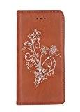 Nnopbeclik Coque Huawei P9 Accessoires [New] Fine Folio Bookstyle en Bonne Qualité PU Cuir en Housse pour Huawei P9 Coque ...