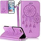 Nnopbeclik Coque Iphone 6S/6 [New] Fine Folio Wallet/Portefeuille en Bonne Qualité PU Cuir Housse pour Iphone 6S Coque Apple / ...