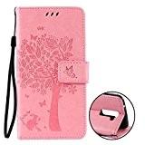 Nnopbeclik Coque LG K10 Antichoque Mode Fine Folio Wallet/Portefeuille en Bonne Qualité PU Cuir Housse pour LG K10 Coque Cuir ...