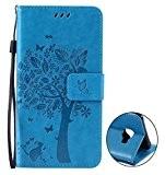 Nnopbeclik Coque Samsung Galaxy C5 Neuf Mode Fine Folio Wallet/Portefeuille en Bonne Qualité PU Cuir Housse pour Samsung Galaxy C5 ...