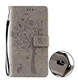 Nnopbeclik® [Coque Samsung Galaxy Note 4 Neuf] Fine Folio Wallet/Portefeuille en Bonne Qualité PU Cuir Housse pour Samsung Galaxy Note ...