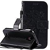 Nnopbeclik Coque Samsung Galaxy S4 Neuf Mode Fine Folio Wallet/Portefeuille en Bonne Qualité PU Cuir Housse pour Samsung Galaxy S4 ...
