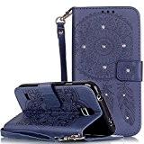 Nnopbeclik Coque Samsung Galaxy S5 New Fine Folio Wallet/Portefeuille en Bonne Qualité PU Cuir Housse pour Samsung Galaxy S5 Coque ...