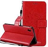 Nnopbeclik Coque Sony Xperia Z3 Neuf Mode Fine Folio Wallet/Portefeuille en Bonne Qualité PU Cuir Housse pour Sony Xperia Z3 ...