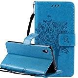 Nnopbeclik Coque Sony Xperia Z4 Compact Neuf Mode Fine Folio Wallet/Portefeuille en Bonne Qualité PU Cuir Housse pour Sony Xperia ...