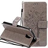 Nnopbeclik Mode Fine Folio Wallet/Portefeuille en Bonne Qualité PU Cuir Housse pour Samsung Galaxy Note 3 Coque (5.7 Pouce) [Antichoc] ...