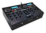 Numark CDMix USB | Platine CD et MP3 à Plat, Système DJ Compact et Nomade Tout-En-Un avec 2 Lecteurs CD ...