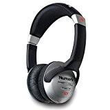 Numark HF125 | Casque Audio DJ Professionnel Circum-Aural Unifilaire Ultra-Léger et Robuste