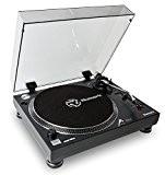 Numark TT250 USB | Platine Vinyle Professionnelle à Entraînement Direct + sorties RCA et USB pour l'enregistrement de vos vinyles