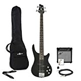 Pack ampli Guitare basse Chicago par Gear4music Noir