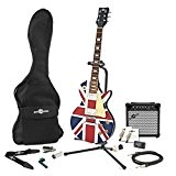Pack Complet Guitare Électrique New Jersey Union Jack