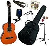 Pack Guitare Classique 4/4 (Adulte) Avec 7 Accessoires (nature)