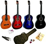 Pack Guitare Classique 4/4 Avec 5 Accessoires ~ Neuve & Garantie (nature)
