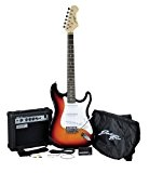 "Pack Guitare Electrique ""Johnny Brook"" avec Amplificateur 15W"