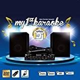 Pack karaoké 100W - 2 enceintes + ampli + microphones Bluetooth/USB