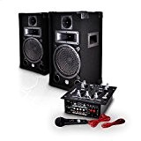 "Pack sono 2 enceintes 8"" 150W + Table de mixage 2x75W MDJ150-BT MYDJ"