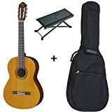 Pack Yamaha C40 - Guitare Classique (+ housse, repose pied)